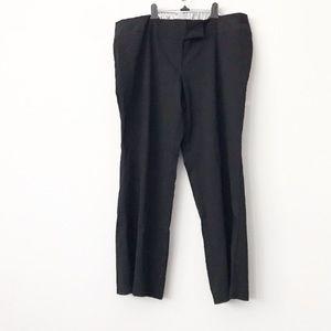Torrid Black Relaxed Trouser Pant in Sz 24R